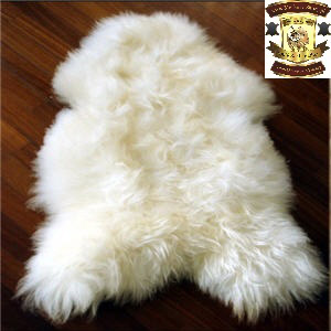 Icelandic sheepskin rug white tannery wholesale manufacturer